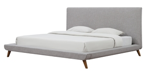 Thumbnail of TOV Furniture - Nixon Beige Linen Bed