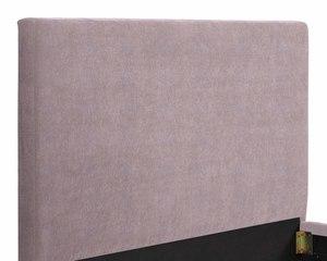 Thumbnail of TOV Furniture - Delilah Blush Textured Velvet Bed