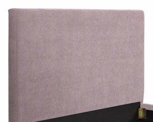 Thumbnail of TOV Furniture - Delilah Blush Textured Velvet Bed in Queen
