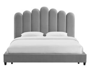 Thumbnail of TOV Furniture - Celine Grey Velvet Bed