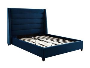 Thumbnail of TOV Furniture - Koah Navy Velvet Bed