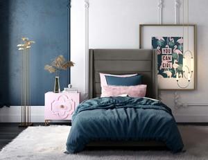 Thumbnail of TOV Furniture - Koah Grey Velvet Bed