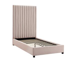 Thumbnail of TOV Furniture - Arabelle Blush Velvet Bed