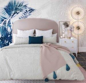 Thumbnail of TOV Furniture - Vivi Blush Velvet Bed