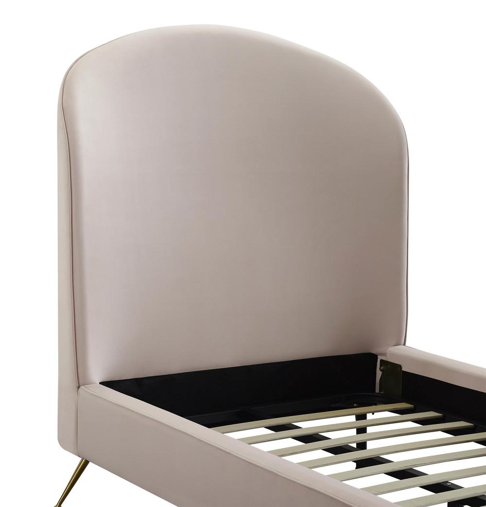 TOV Furniture - Vivi Blush Velvet Bed
