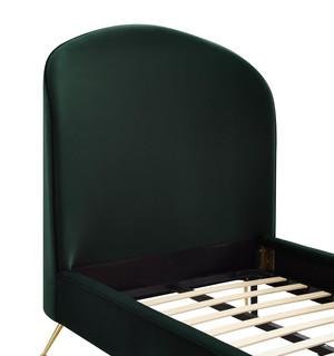Thumbnail of TOV Furniture - Vivi Forest Green Velvet Bed