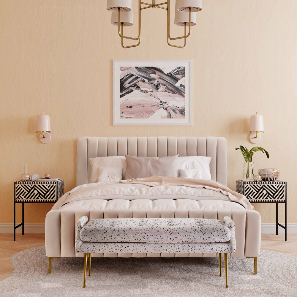 TOV Furniture - Angela Blush Bed