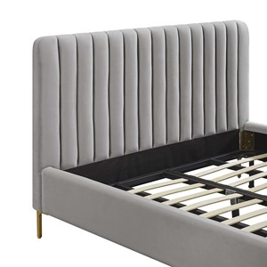 Thumbnail of TOV Furniture - Angela Grey Bed