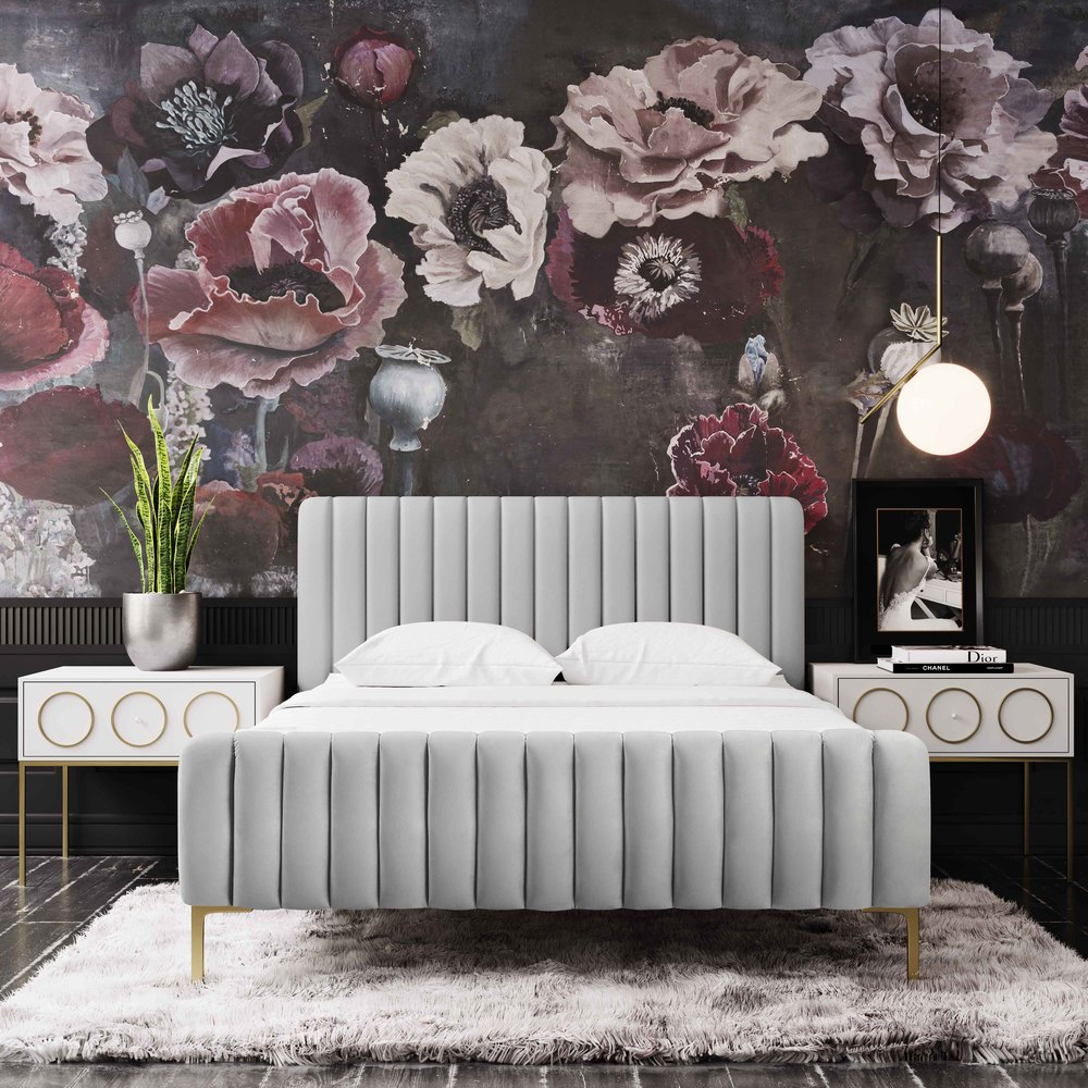 TOV Furniture - Angela Grey Bed