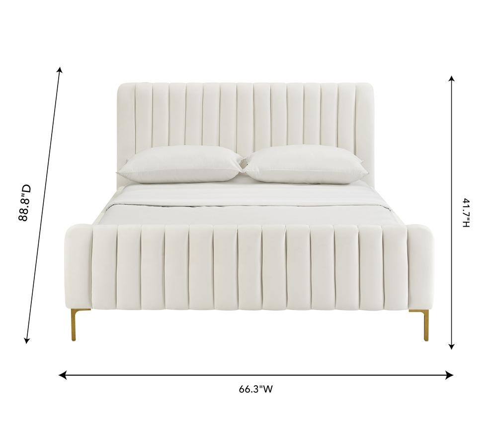 TOV Furniture - Angela Cream Bed