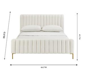 Thumbnail of TOV Furniture - Angela Cream Bed