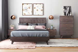 Thumbnail of TOV Furniture - Loft Wooden King Bed