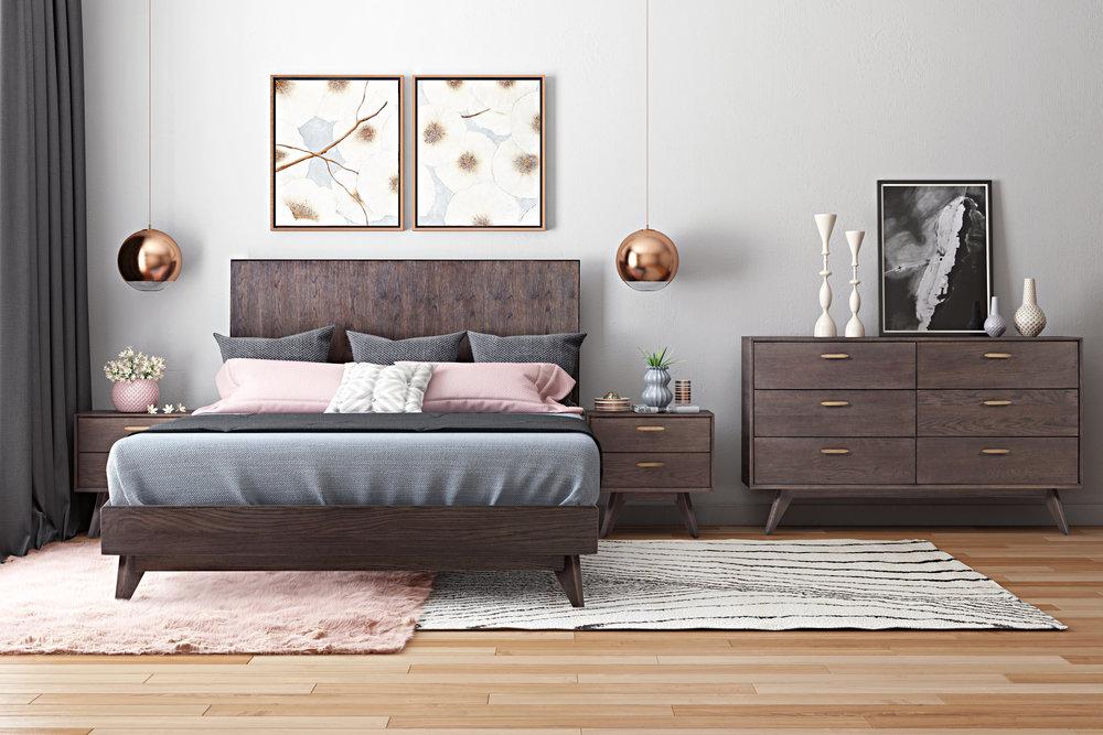 TOV Furniture - Loft Wooden King Bed