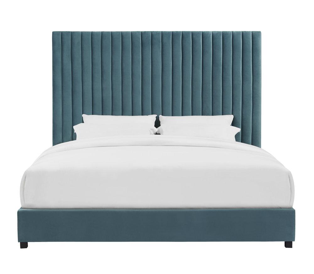 TOV Furniture - Arabelle Sea Blue Bed