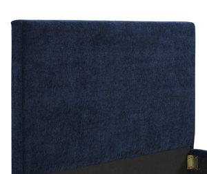 Thumbnail of TOV Furniture - Delilah Navy Textured Velvet Bed