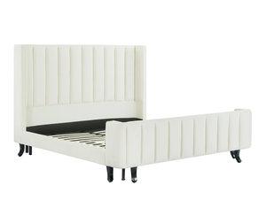 Thumbnail of TOV Furniture - Waverly Cream Velvet Bed