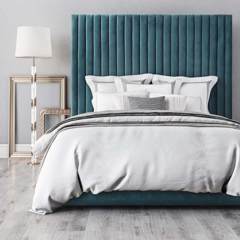 TOV Furniture - Arabelle Sea Blue Bed