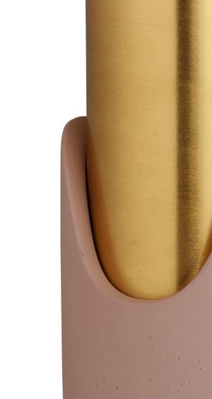 Thumbnail of TOV Furniture - Pink Concrete Vase