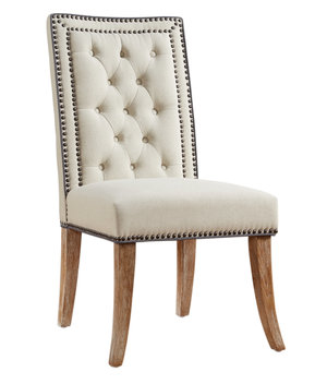 Thumbnail of TOV Furniture - Garrett Beige Linen Dining Chair