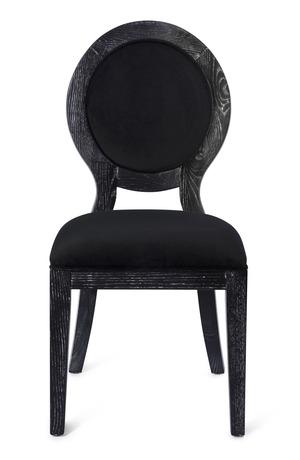 Thumbnail of TOV Furniture - Cerused Oak Black Chair