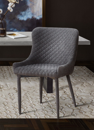 Thumbnail of TOV Furniture - Draco Grey Chair