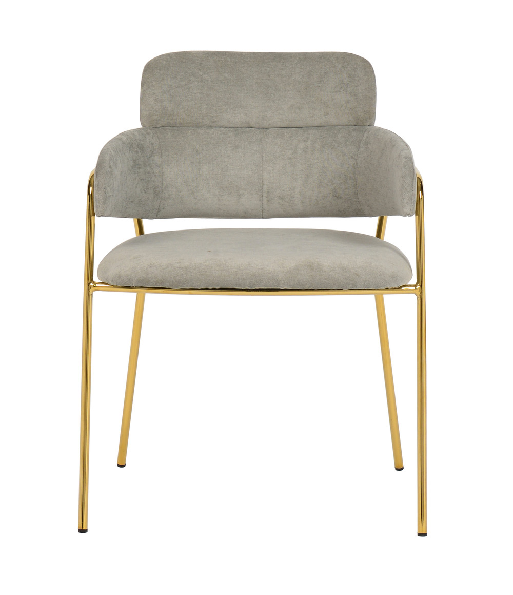 TOV Furniture - Karl Grey Linen Chair
