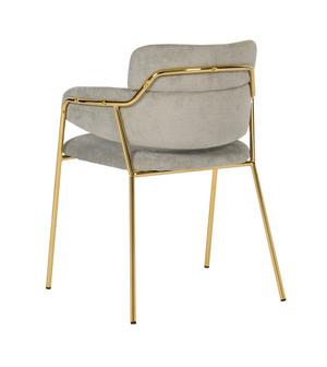 Thumbnail of TOV Furniture - Karl Grey Linen Chair