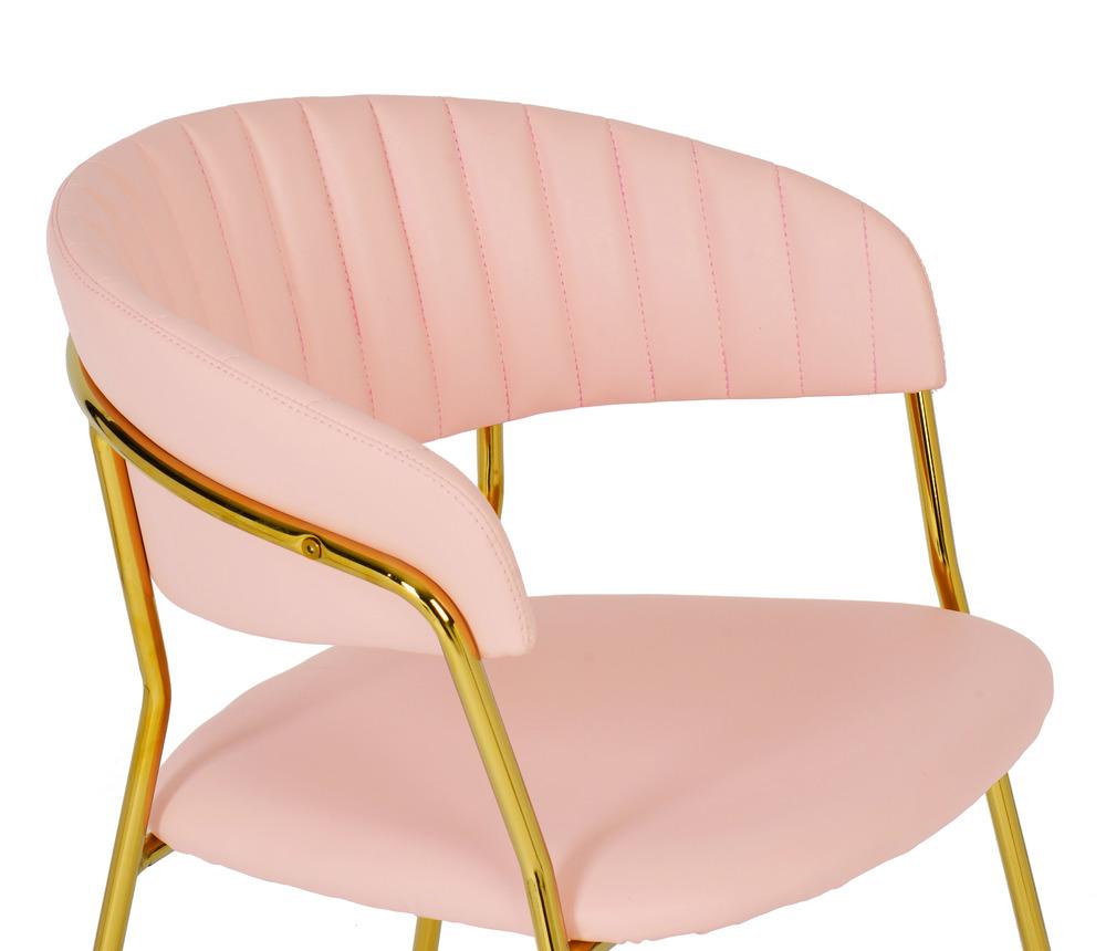 TOV Furniture - Padma Blush Vegan Leather Chair