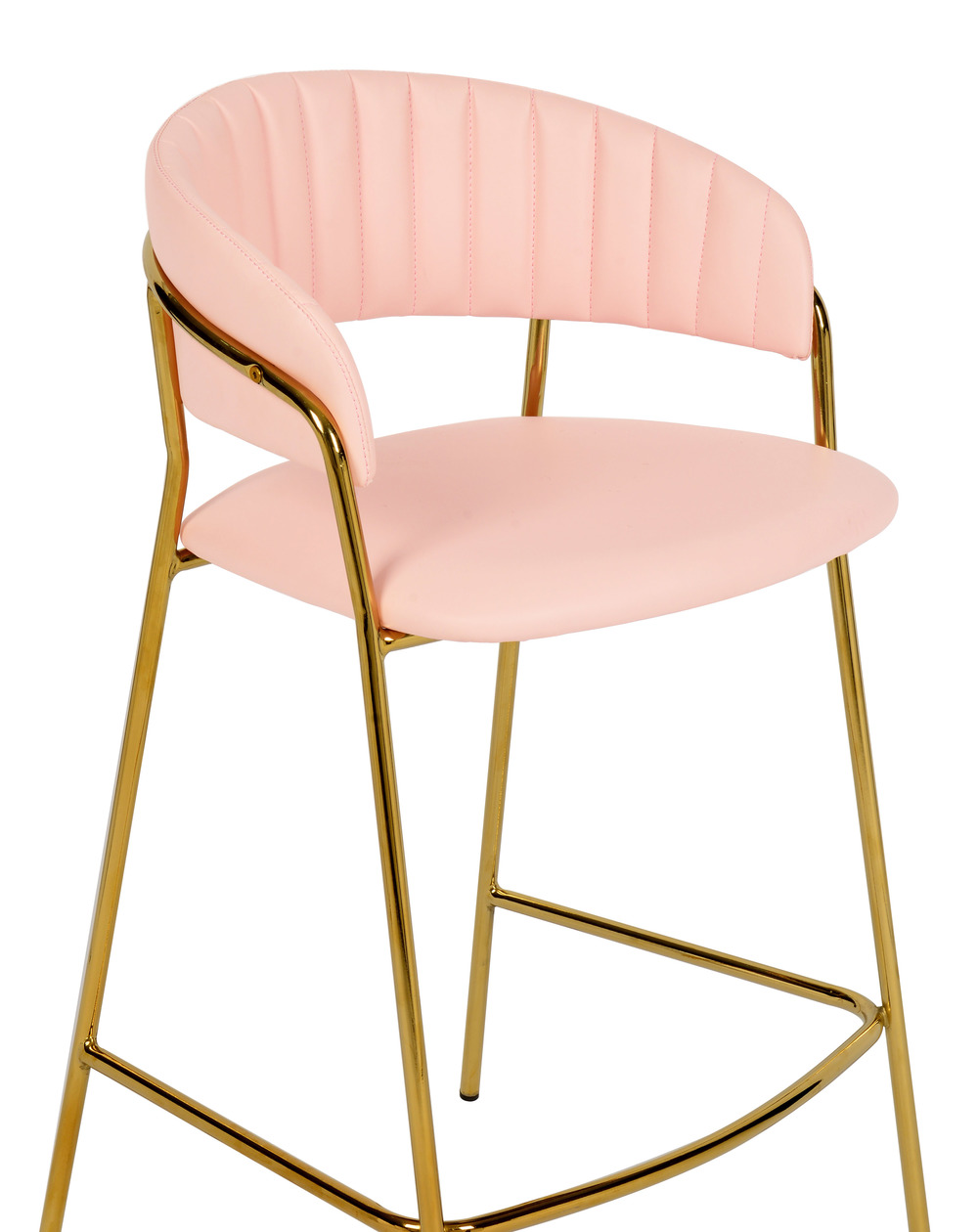 TOV Furniture - Padma Blush Vegan Leather Counter Stool