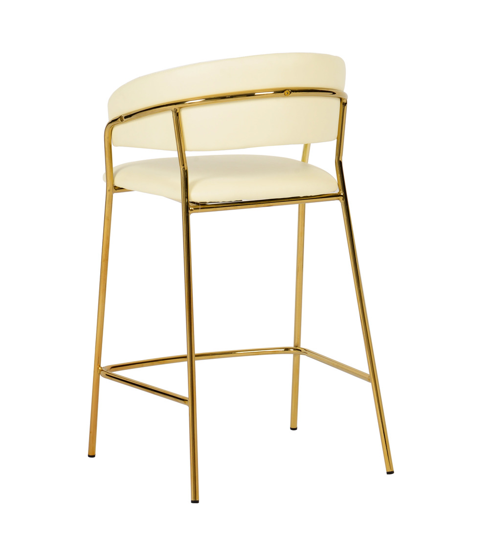 TOV Furniture - Padma Cream Vegan Leather Counter Stool