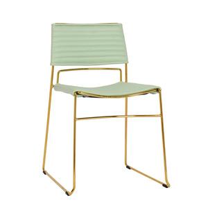 Thumbnail of TOV Furniture - Domani Mint Vegan Leather Chair