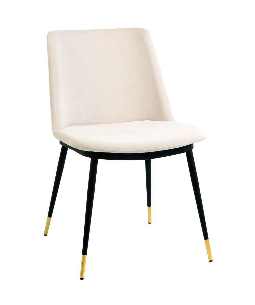 TOV Furniture - Evora Cream Velvet Chair