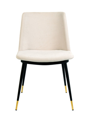 Thumbnail of TOV Furniture - Evora Cream Velvet Chair
