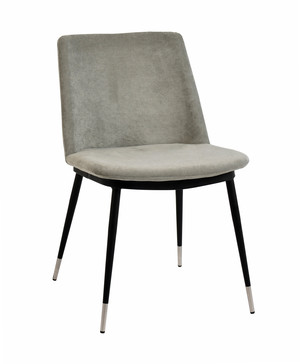 Thumbnail of TOV Furniture - Evora Grey Velvet Chair