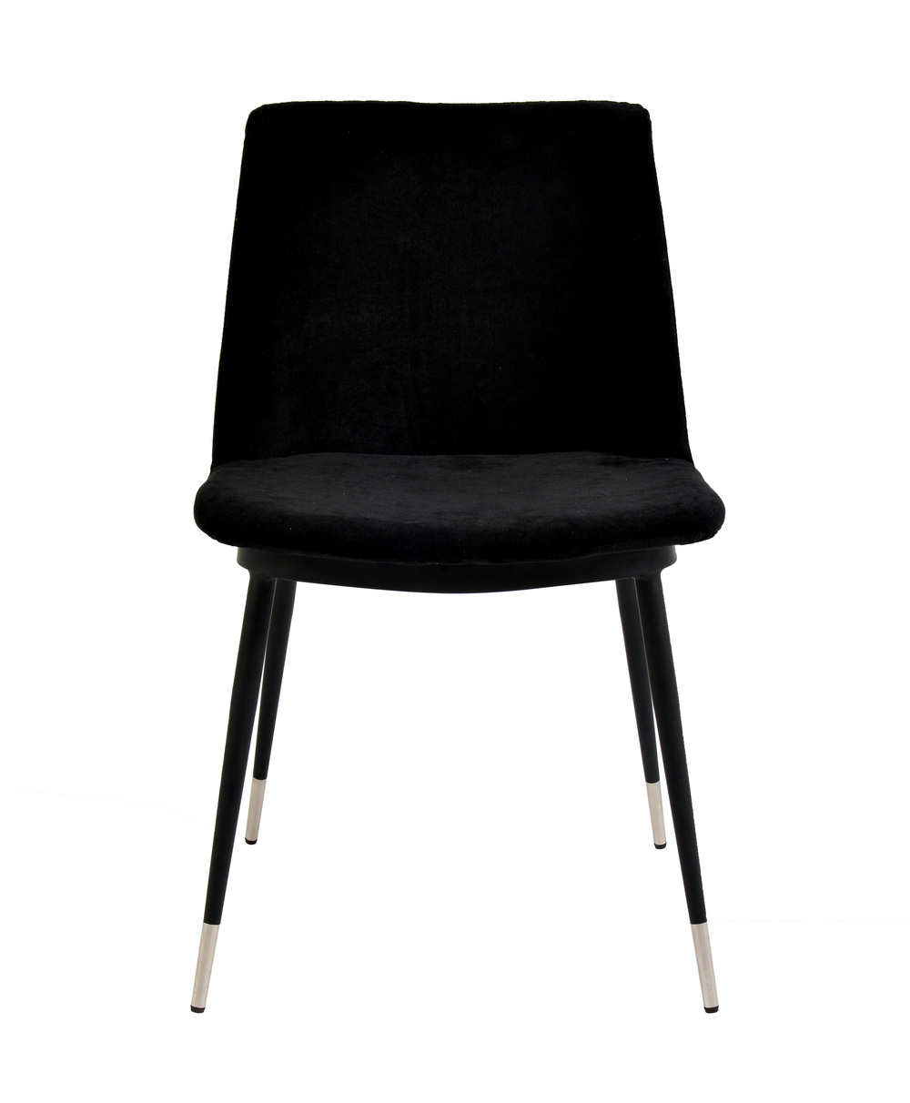 TOV Furniture - Evora Black Velvet Chair
