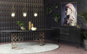 Thumbnail of TOV Furniture - Valentina Black Buffet