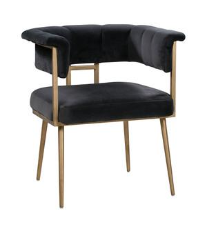 Thumbnail of TOV Furniture - Astrid Grey Velvet Chair