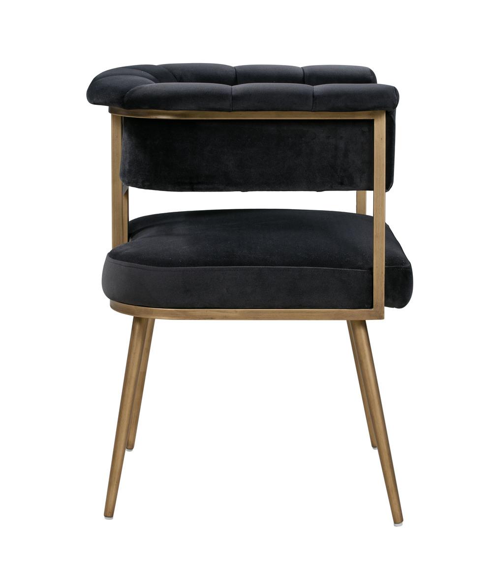 TOV Furniture - Astrid Grey Velvet Chair