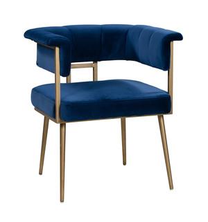 Thumbnail of TOV Furniture - Astrid Navy Velvet Chair