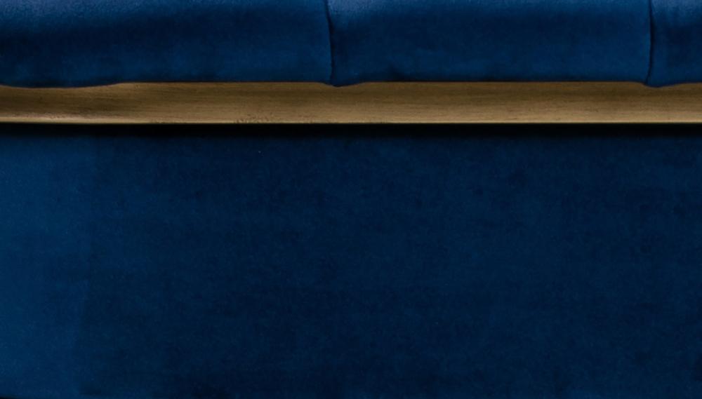 TOV Furniture - Astrid Navy Velvet Chair