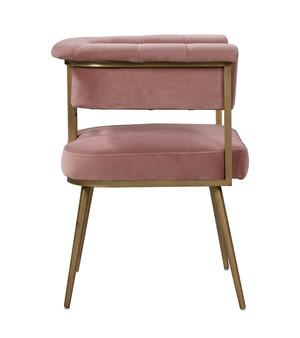 Thumbnail of TOV Furniture - Astrid Blush Velvet Chair