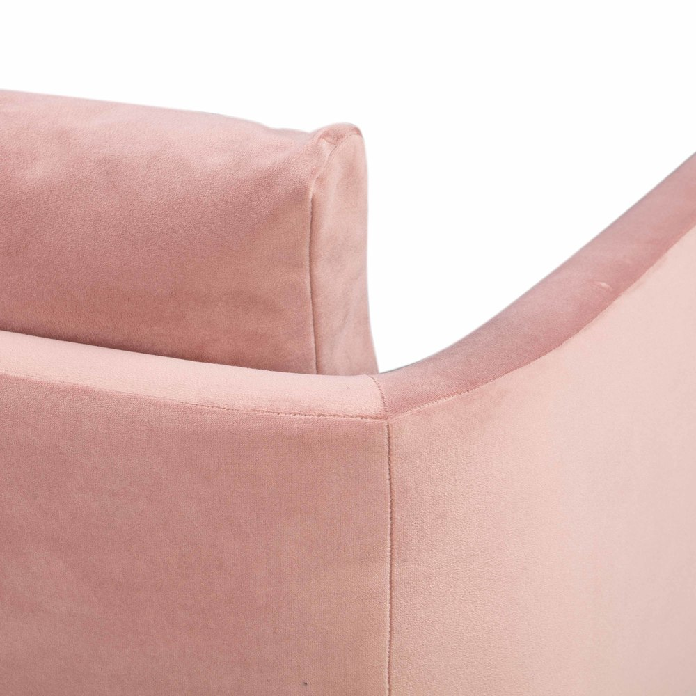 TOV Furniture - Alto Blush Velvet Chair