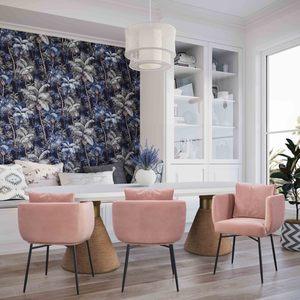 Thumbnail of TOV Furniture - Alto Blush Velvet Chair