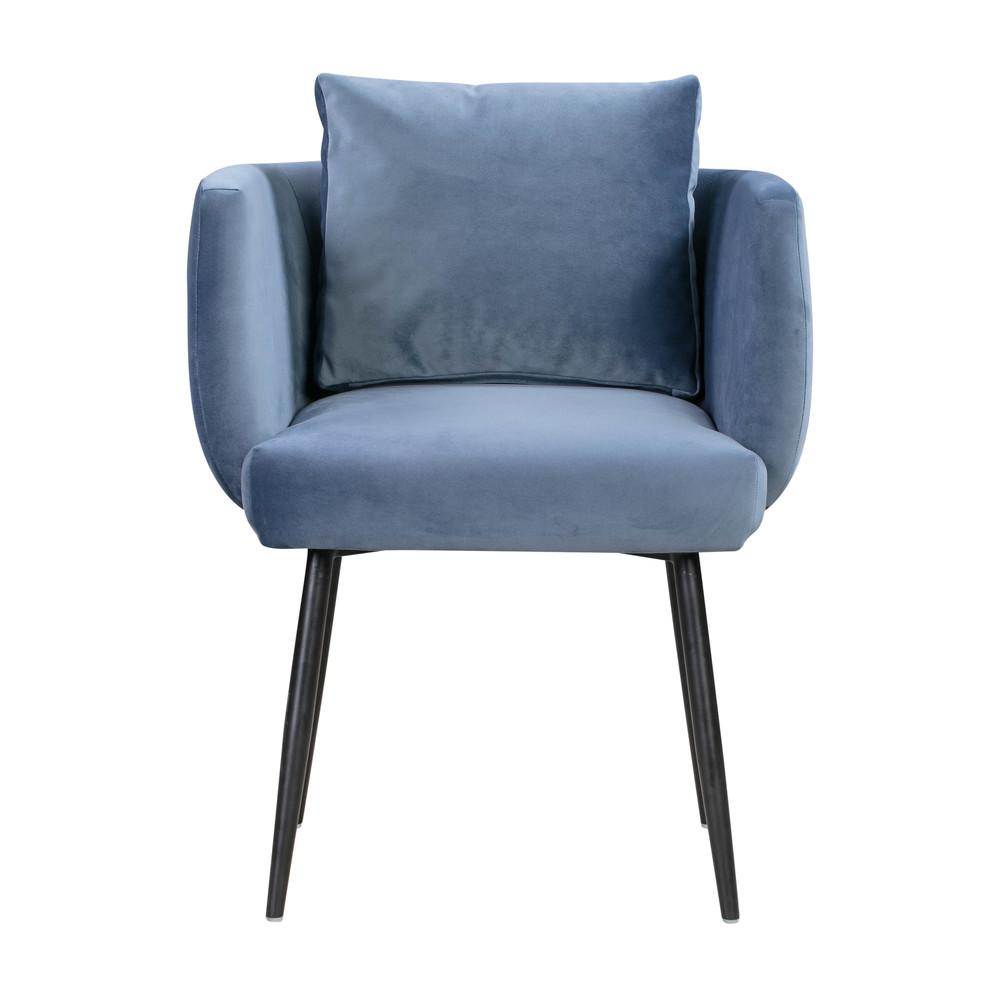TOV Furniture - Alto Cascadia Blue Velvet Chair
