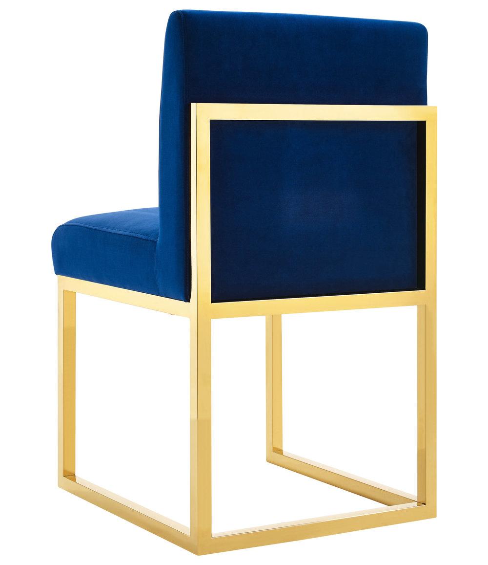 TOV Furniture - Haute Navy Velvet Chair