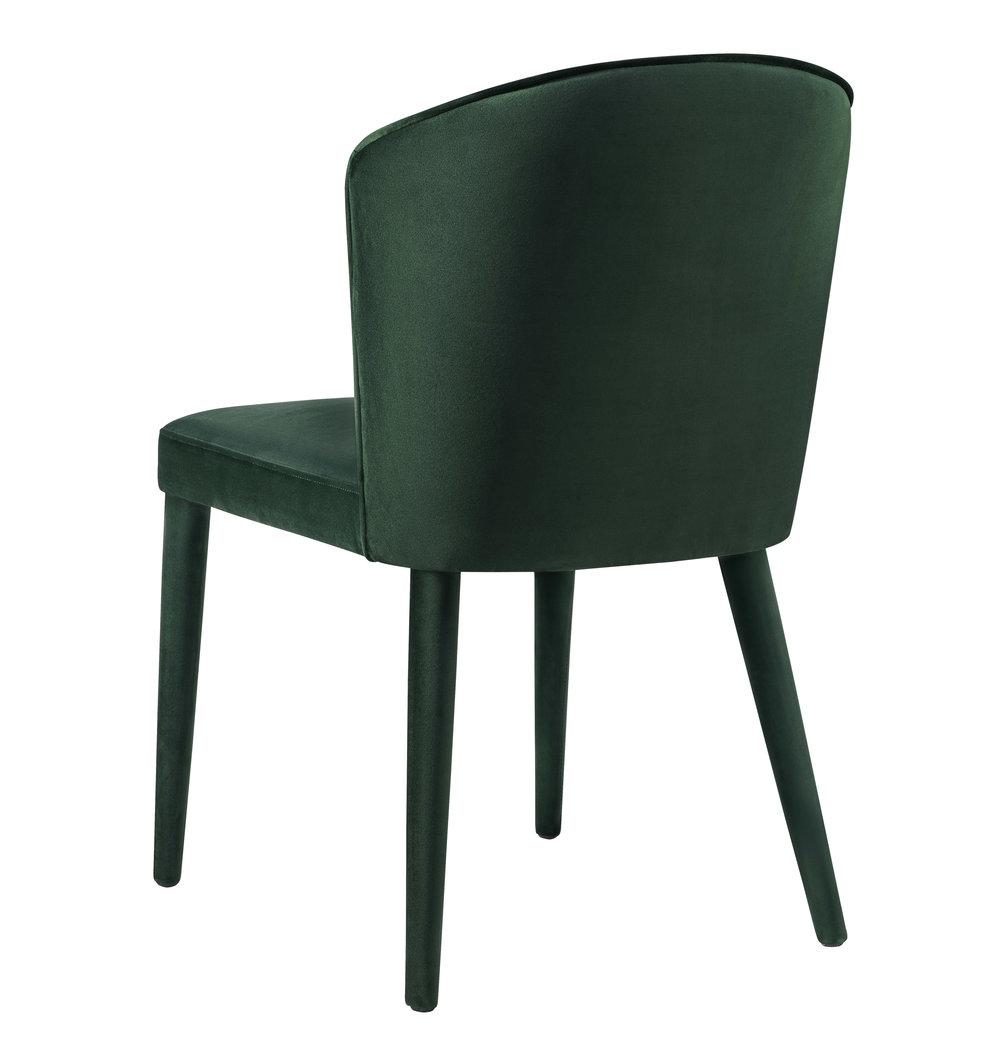 TOV Furniture - Metropolitan Forest Green Velvet Chair