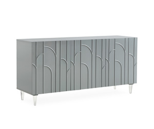 Thumbnail of TOV Furniture - Deco Grey Lacquer Buffet