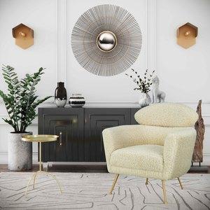 Thumbnail of TOV Furniture - Famke Black Lacquer Buffet