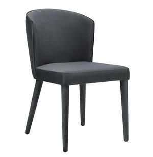Thumbnail of TOV Furniture - Metropolitan Grey Velvet Chair