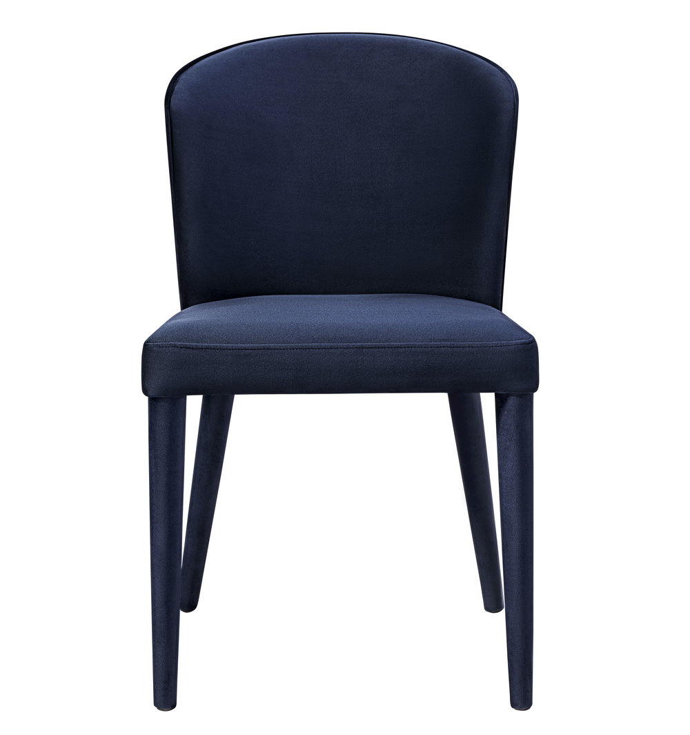 TOV Furniture - Metropolitan Navy Velvet Chair